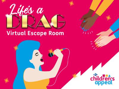Life's a drag virtual escape room